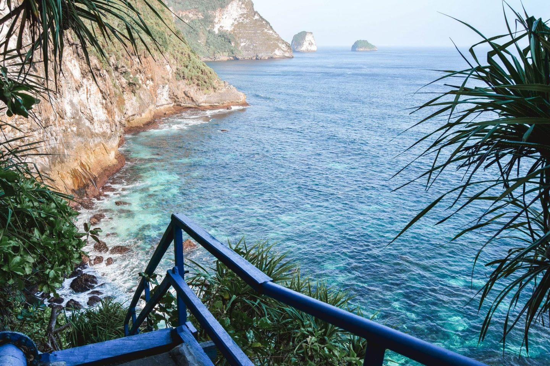 Wanderers & Warriors - Peguyangan Waterfall Nusa Penida Bali - Blue stairs nusa penida blue stairs - mata air peguyangan water of springs