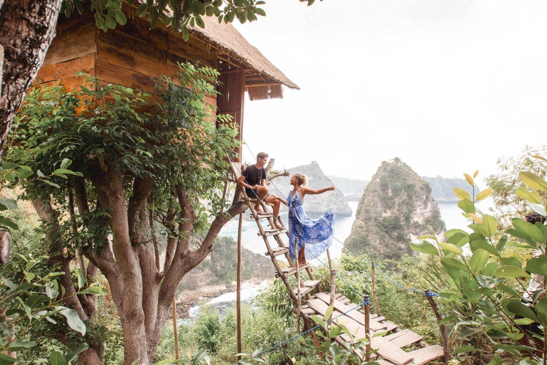 Wanderers & Warriors - Charlie & Lauren UK Travel Couple - Rumah Pohon – The Nusa Penida Treehouse Bali - Rumah Pohon Molenteng - Treehouse Nusa Penida Treehouse - Cool Places In Nusa Penida - Nusa Islands