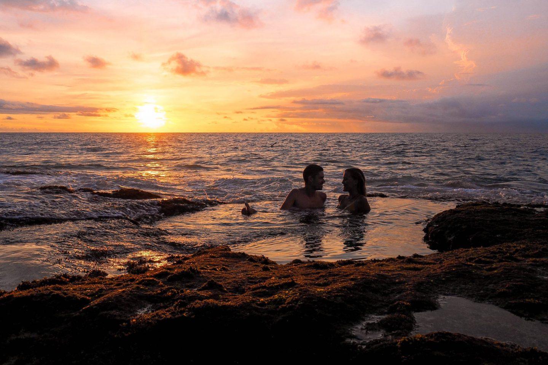 Tegal Wangi Beach Bali & It's Natural Jacuzzi's