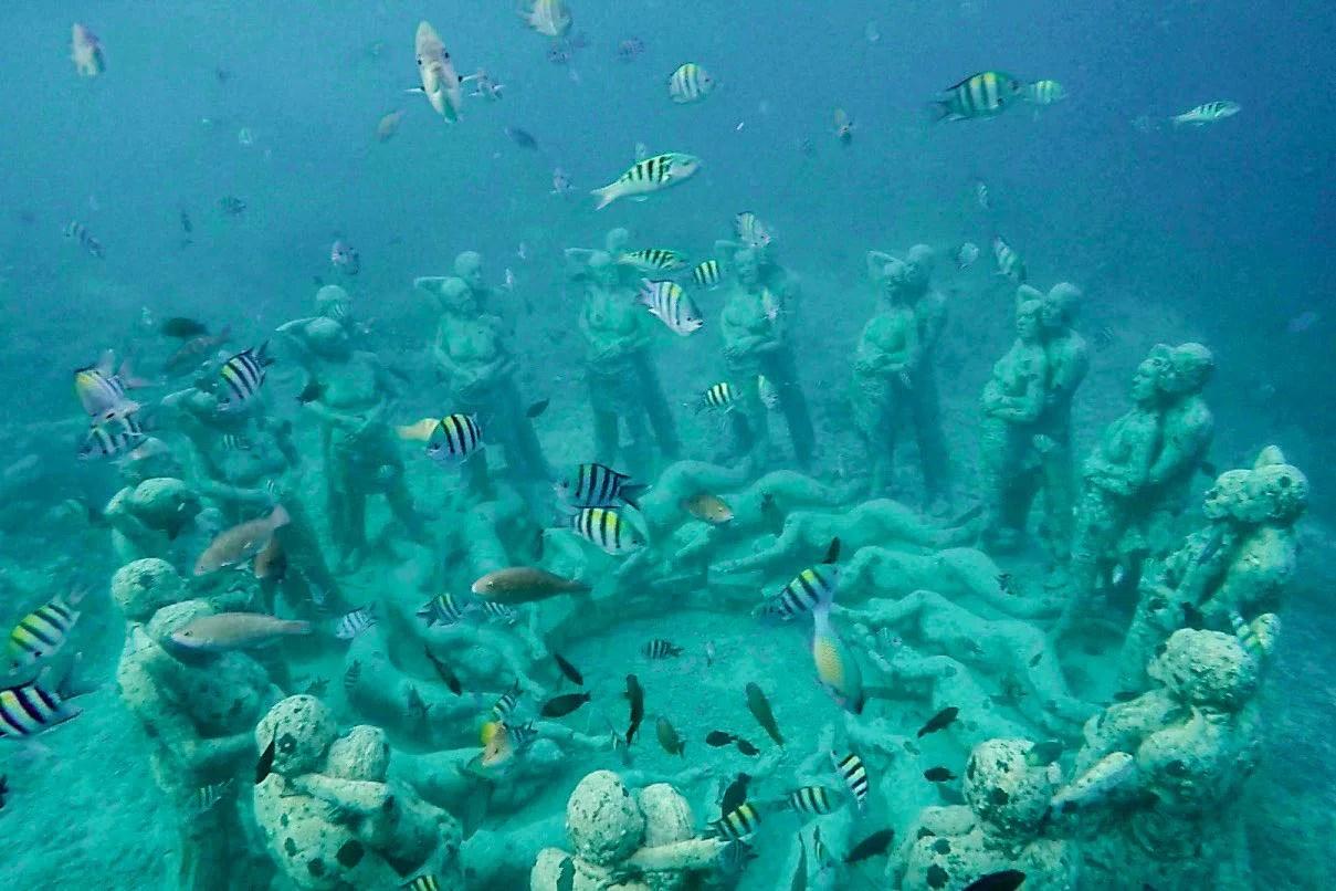 Wanderers & Warriors - Gili Trawangan Snorkeling Tour - Snorkeling Gili Trawangan - Gili Meno Underwater Statues