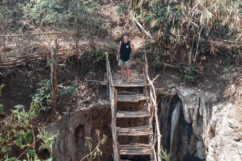 Wanderers & Warriors - Charlie & Lauren UK Travel Couple - Bangkang Cave Lombok Bat Cave Lombok Bat Cave - Mystical Neverland Batcave