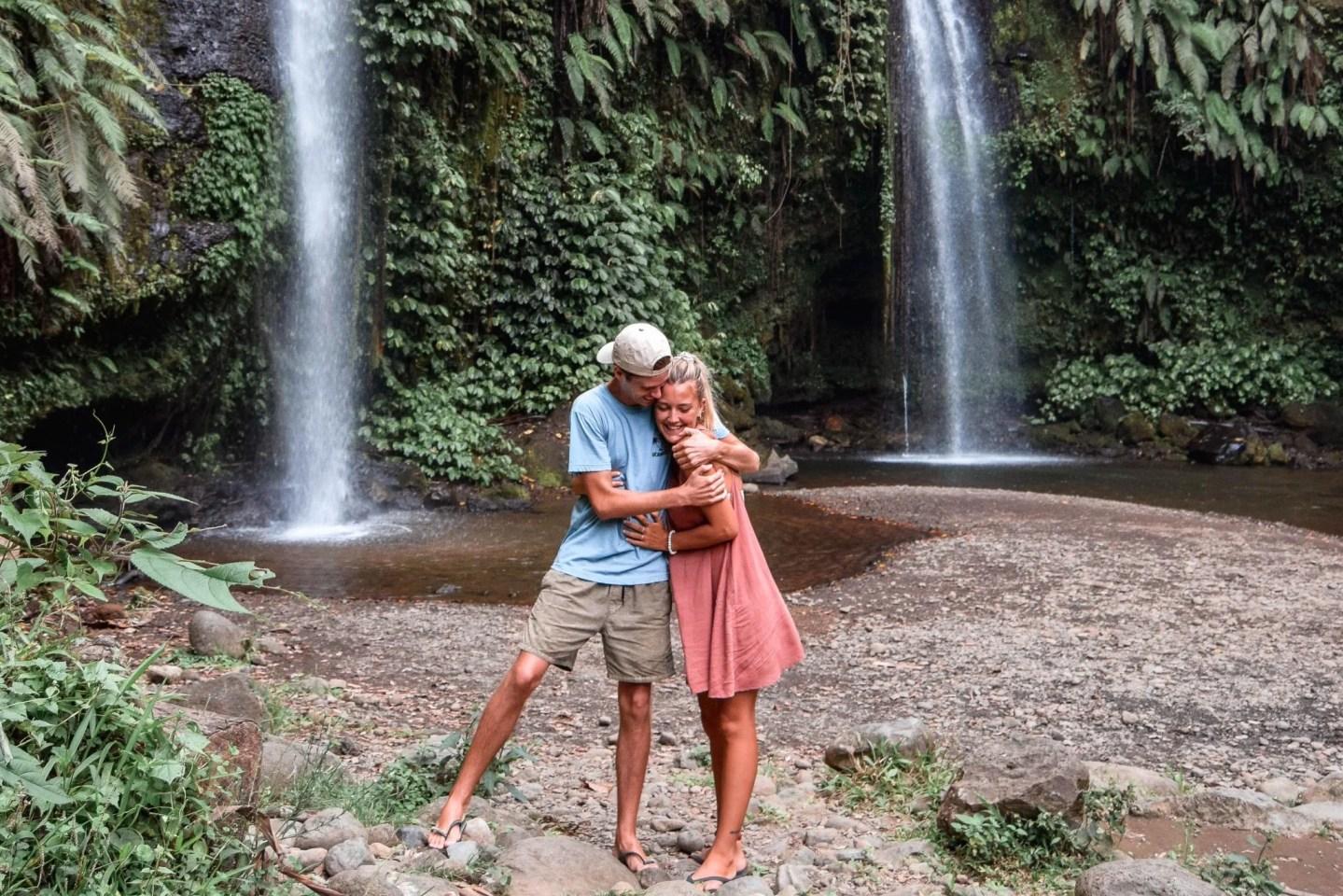 Benang Stokel & Benang Kelambu Waterfalls