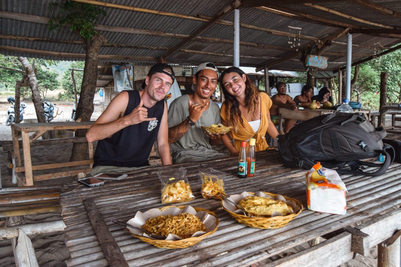 Wanderers & Warriors - Charlie & Lauren UK Travel Couple - Mawi Beach Lombok - surf in lombok