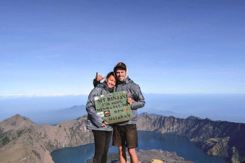 Wanderers & Warriors - Charlie & Lauren UK Travel Couple - Mount Rinjani Trekking Rinjani - Mount Rinjani Trek - Trekking Mt Rinjani