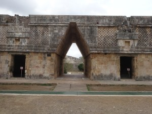 Archway Entrance to the Nunnery. Uxmal