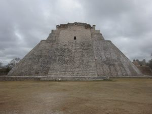 Pyramid of the Magician. Uxmal