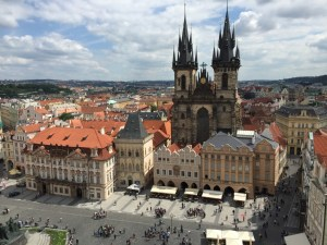 Destinations: Prague. Check Republic