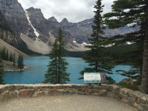 Lake Moraine. Banff NP