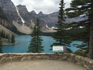 Lake Moraine. Banff NP