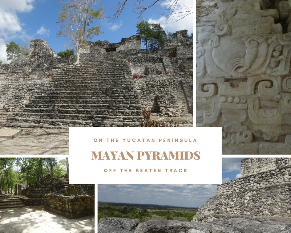 Pyramids Off the Beaten Track in the Jungles of the Yucatan Peninsula