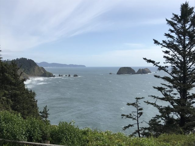 View from Cape Meares, Oregon