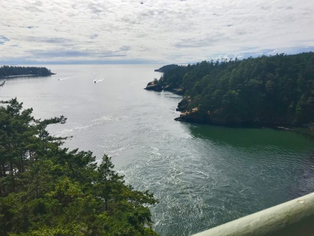 View from Deception Pass Bridge