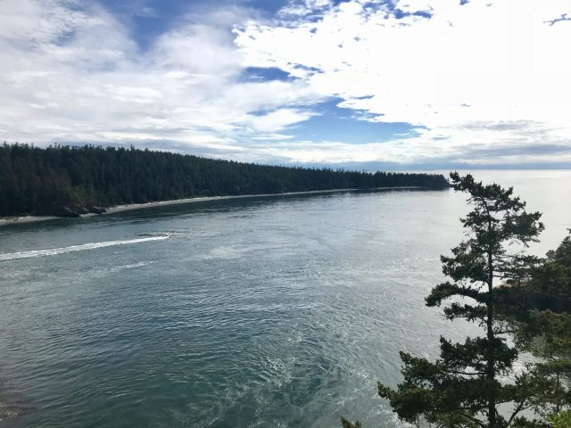 View from the Deception Pass Bridge