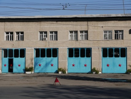 the fire-station