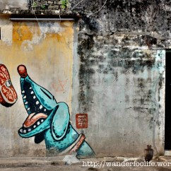Swing Chair Penang Fisher Price Healthy Care High Malaysia 2014: Penang's Street Art In George Town | Wanderfoolife