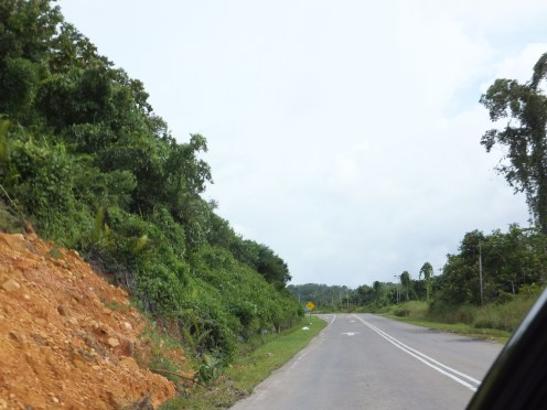 Sipitang to Tenom via Beaufort Route