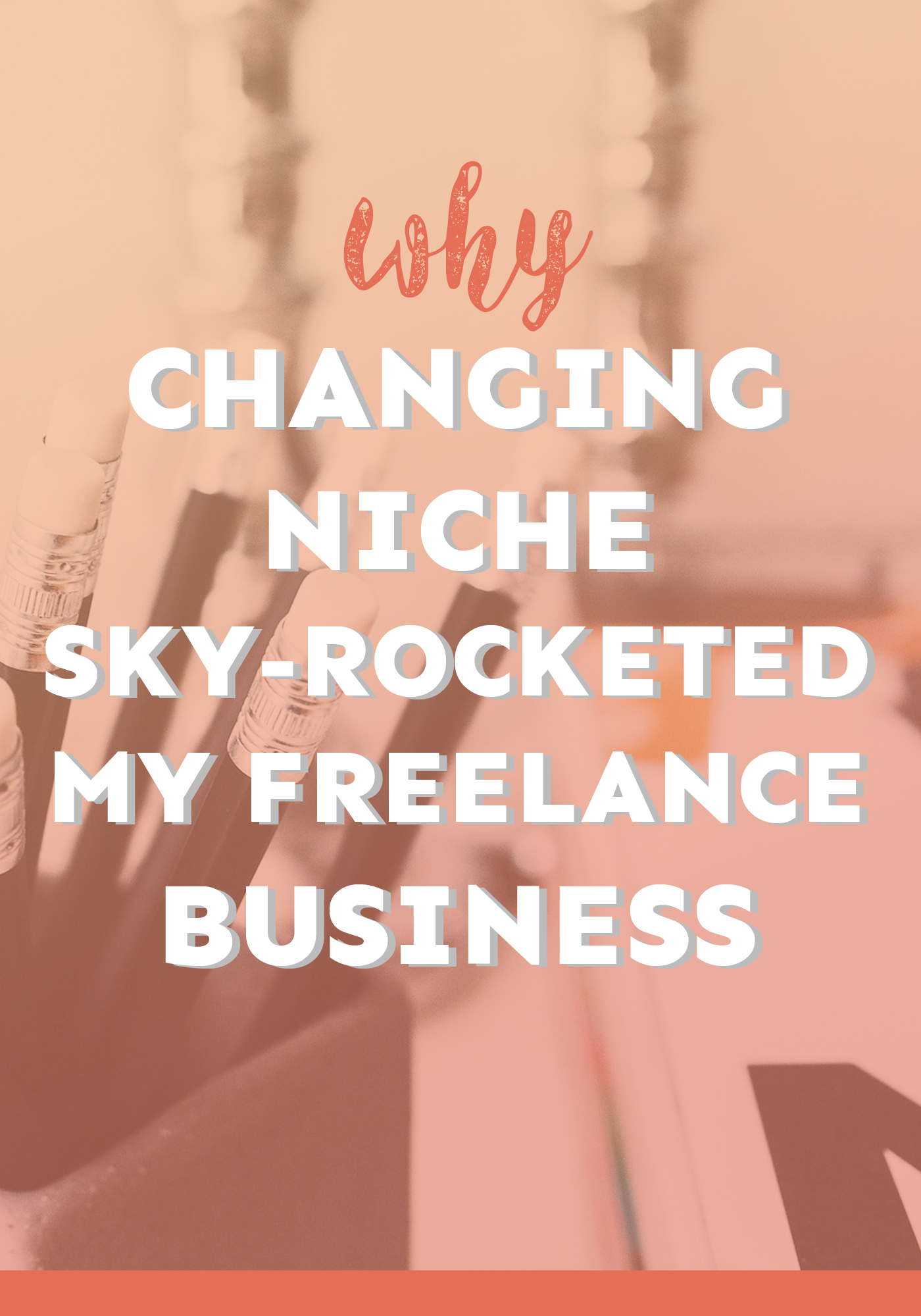 Thinking about changing niche but worried how it'll affect your business? Worry not! Here's how it sky-rocketed my freelance business!