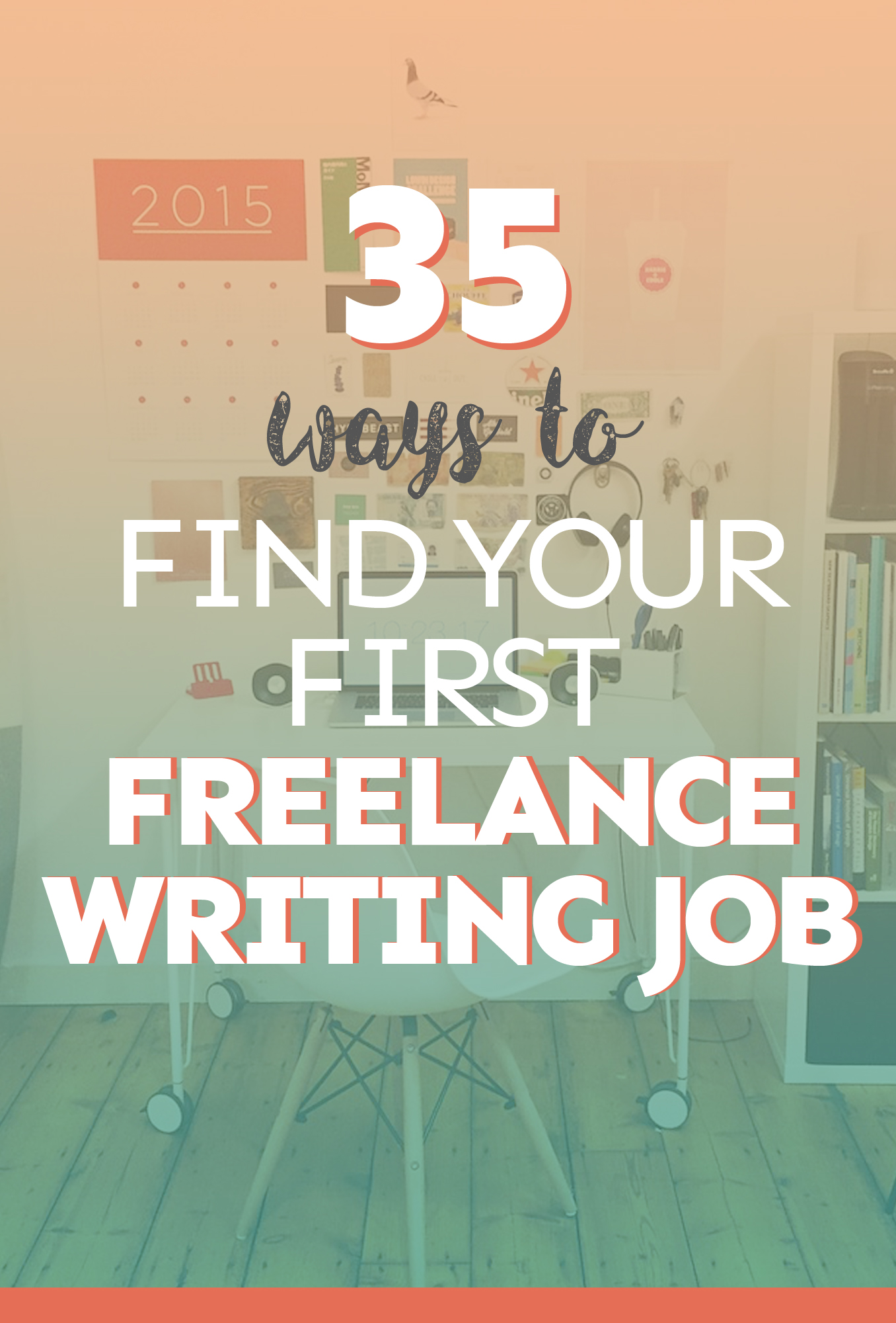 Find first freelance writing job