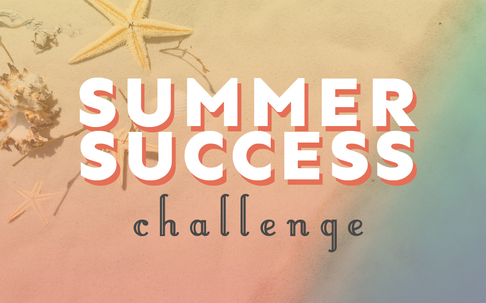 summer challenge graphic