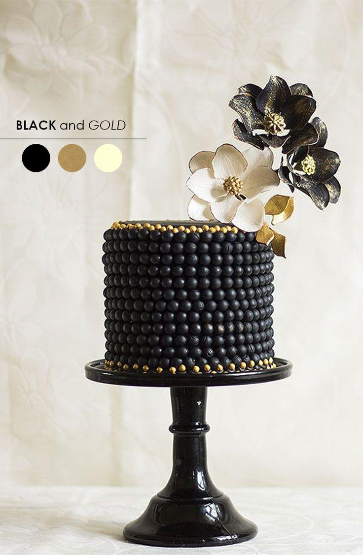 Gold Wedding Cake  Juan Jade