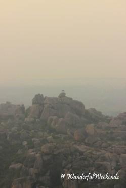 Sun rise from Matanga Hill