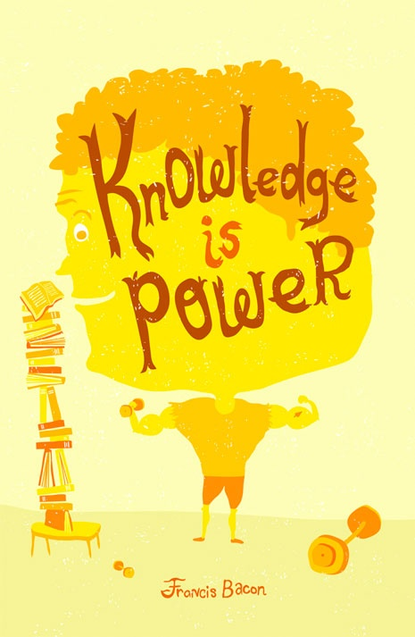 Knowledge is power, francis bacon quotes