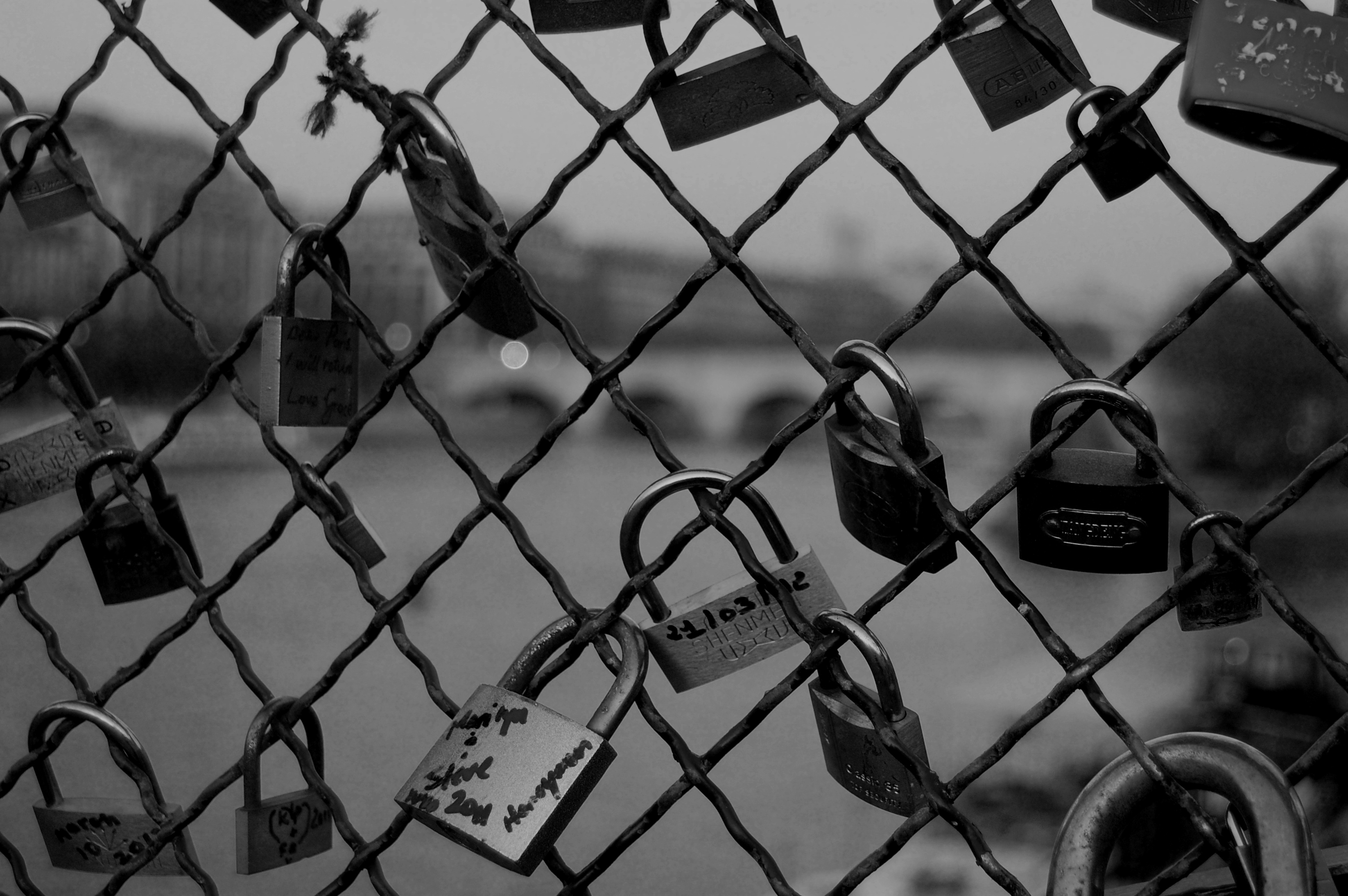 paris locks famous most popping cities europe