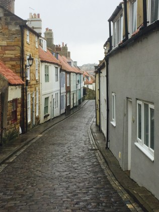 Winding streets of Whitby