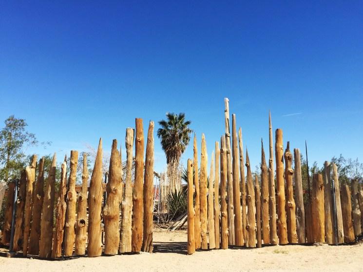 Joshua Tree fence