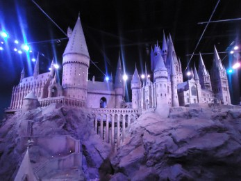 Model version of Hogwarts and its grounds-- absolutely MASSIVE!