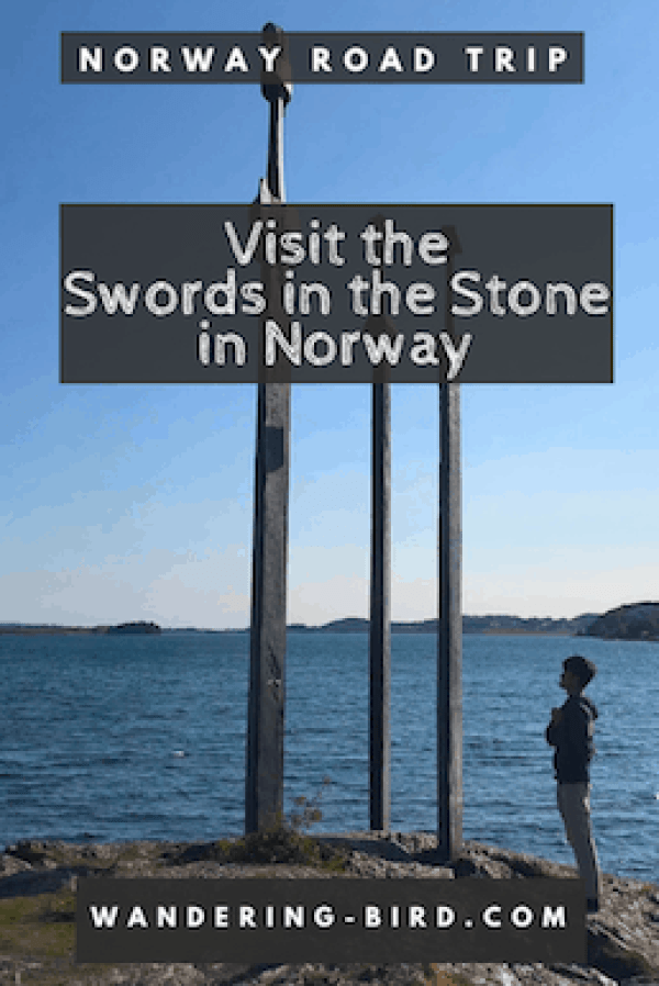 Sverd i fjell- The swords in the rock in Stavanger, Norway. #monument #norway #thingstodo #tips