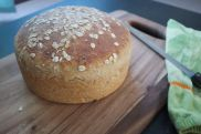 Grainery Loaf Made in the All Clad Stockpot.