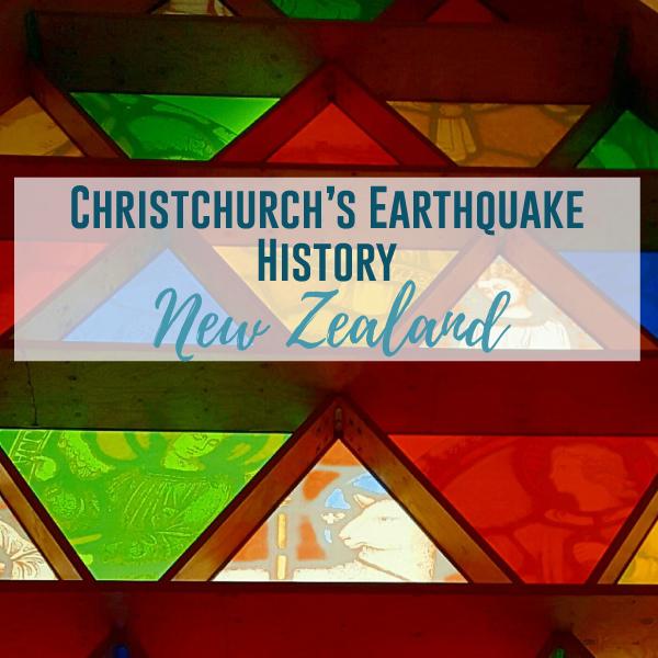 Christchurch: A Walk Through It's Earthquake History