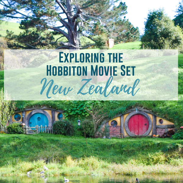 Exploring the Hobbiton Movie Set