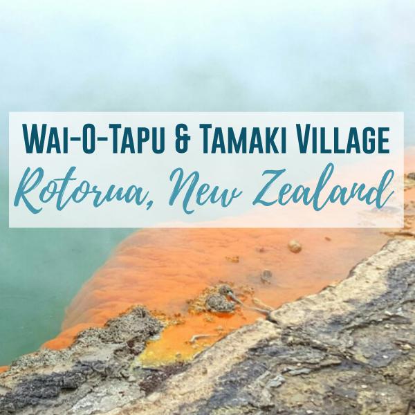 Rotorua from Wai-o-tapu to Tamaki Village