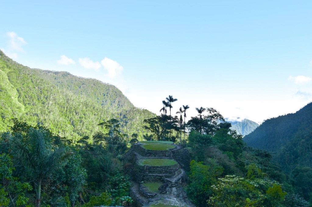 The view of the Lost City