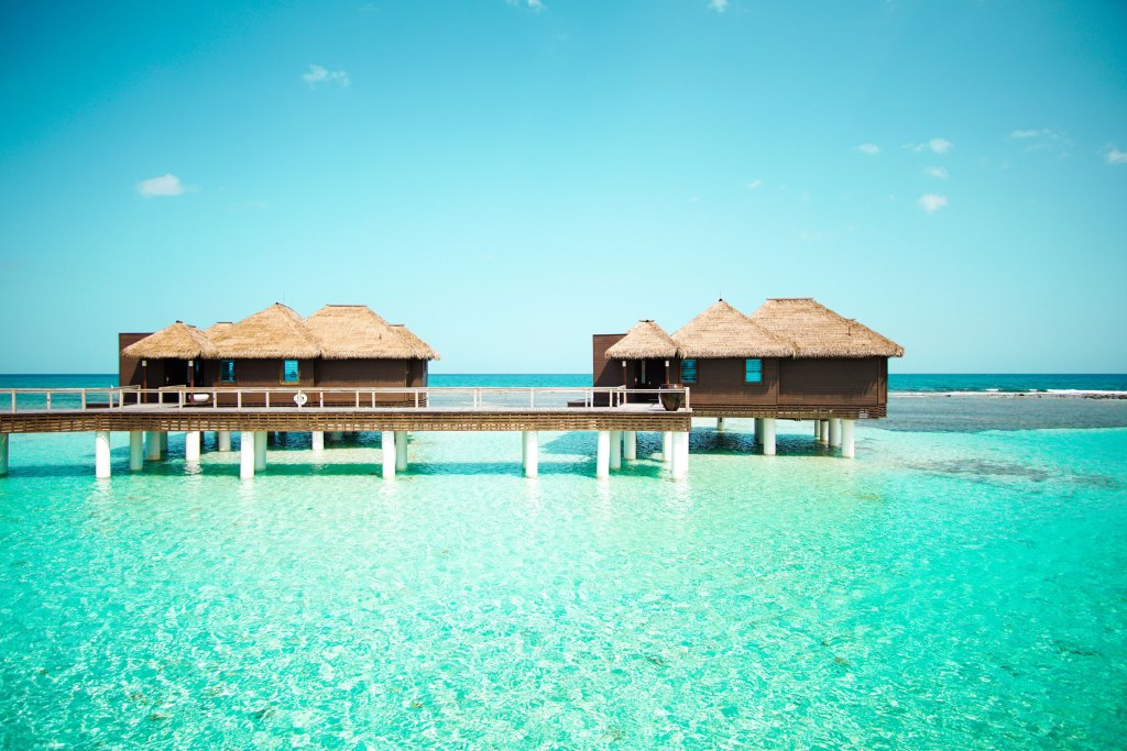 Luxury All Inclusive Vacation: Overwater Bungalows at Sandals Royal Caribbean