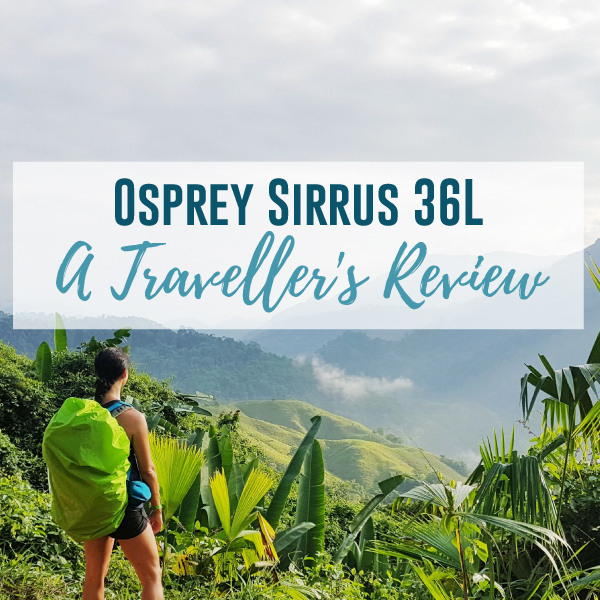 Osprey Sirrus 36 – A Traveller's Review