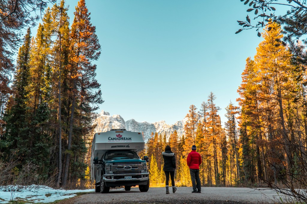 Epic views along our Canadian Rockies Road Trip