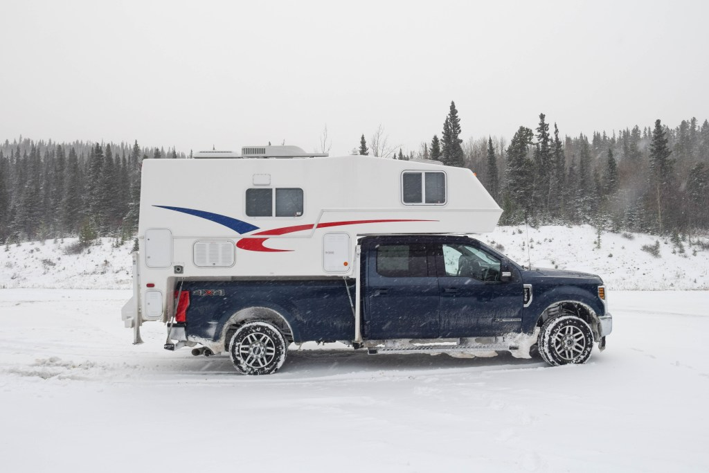Our Adventure Truck for our Canadian Rockies Road Trip