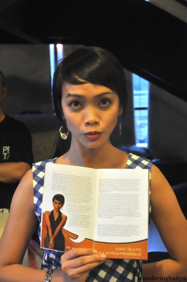 The fierce Anj Heruela, one of the playwrights of FnL
