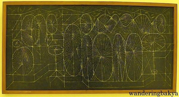 Carnival Forms I by Arturo Luz (Enamel on plywood)
