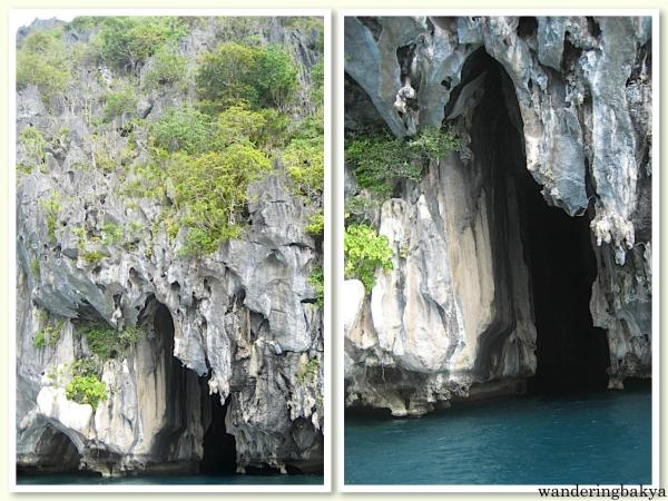 One of the caves I entered while island hopping in El Nido