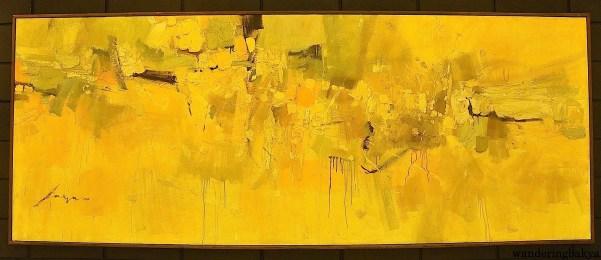 Granadean Arabesque by Jose Joya (Oil on canvas)