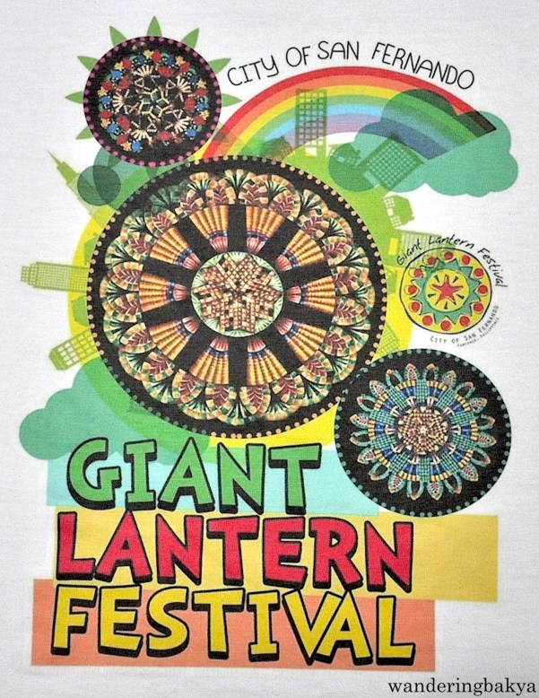 Pampanga Giant Lantern Festival. This shirt came with the green ticket I bought, P250 (US $5.59)
