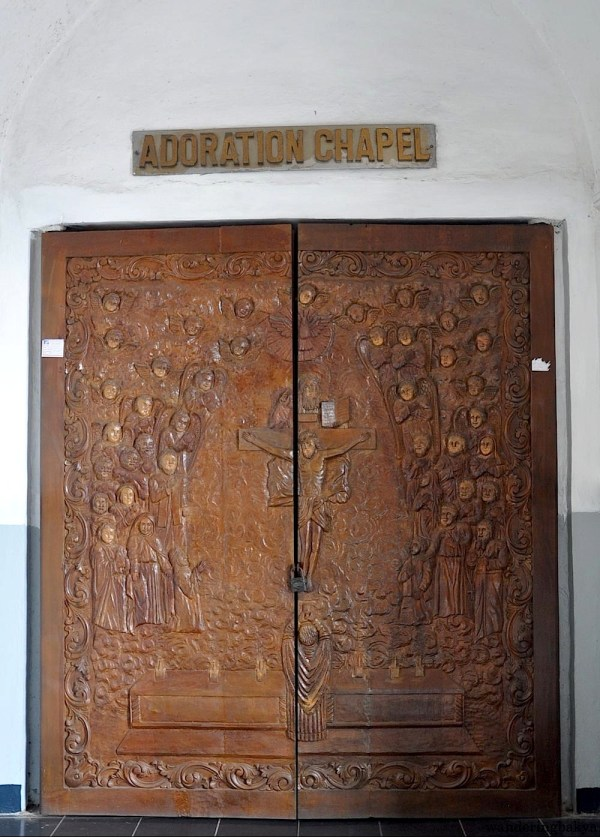 Door of the Adoration Chapel