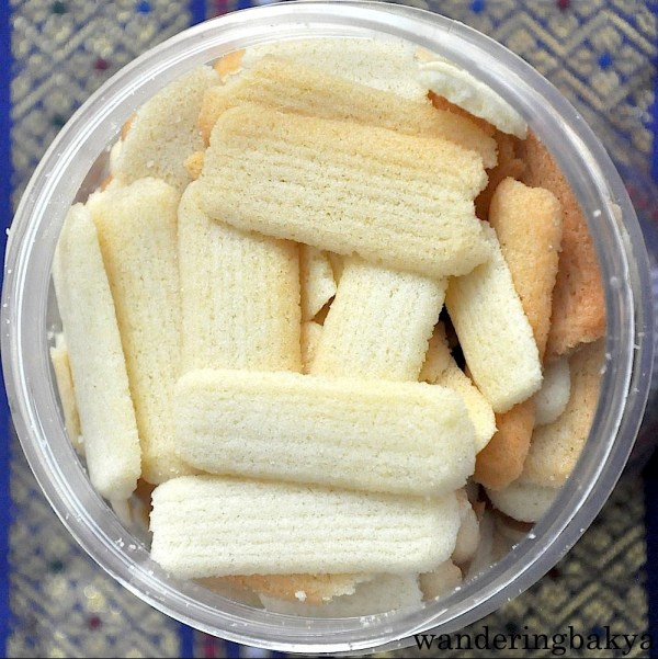 The light as air lengua de gato as seen from the air. Hehe.