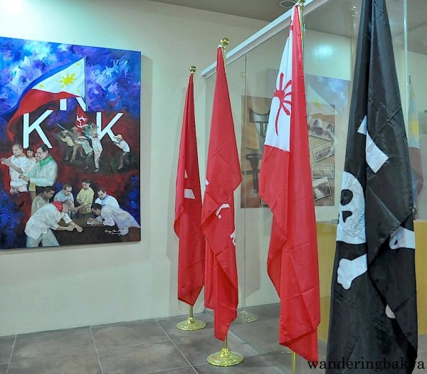 Some of the flags of Katipunan
