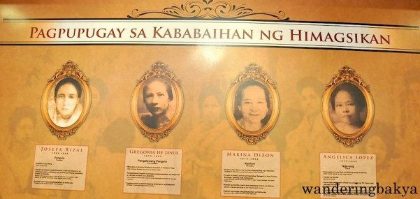 Women in Katipunan. Women members were wives, sisters or daughters of existing katipuneros. They were tasked to keep important documents and to pretend to provide the entertainment in every Katipunan gathering. They sang and danced while meetings were happening to show to the guardia civil that they were only having a party.