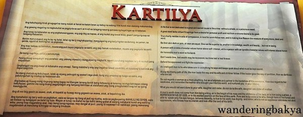 Complete content of Emilio Jacinto's Kartilya in Tagalog and in English